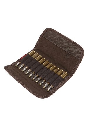 Hillman rifle pouch oak