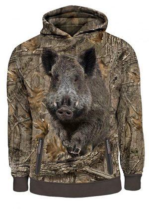 Hoodie Wild boar