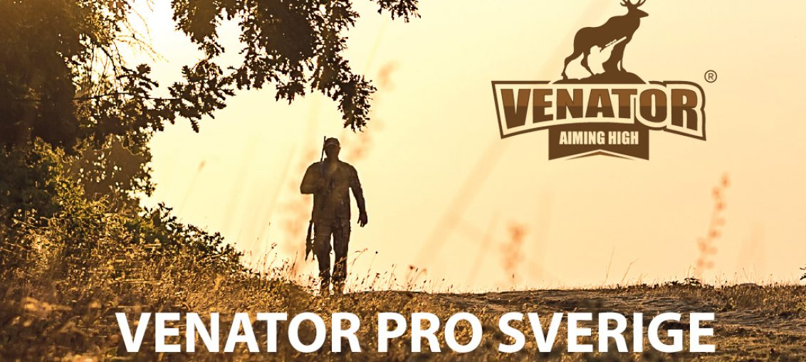 VENATOR PRO LAUNCHES IN SWEDEN