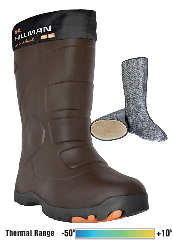 Gun T Shirts >> HILLMAN Rueva Boots – Brown | Venator Pro - Hunting, Sporting, Stalking and Seasoning