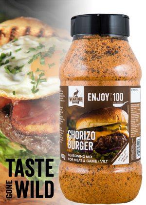 Chorizo burger PP