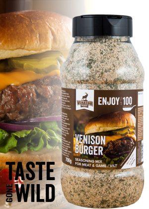 Venison burger PP